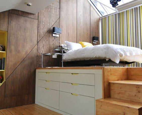 kleines schlafzimmer einrichten funktionale lösung große ...