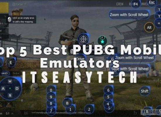 5 Best Emulator For Pubg Mobile Mobilee