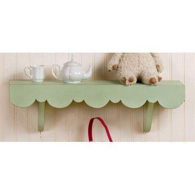 Found it at Wayfair - Scalloped Cottage Wall Shelf