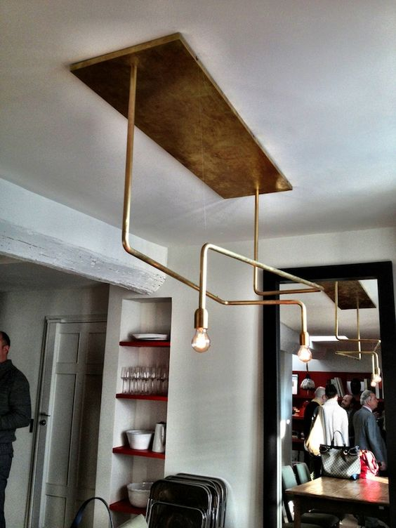 pierre frey loft lighting fixture home furnishings pinterest wall lighting copper and. Black Bedroom Furniture Sets. Home Design Ideas