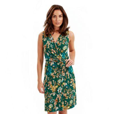 Joe Browns Green goddess wrap dress-   Debenhams