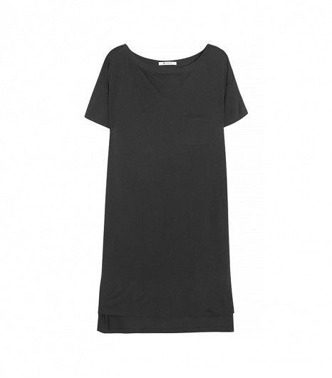 @Who What Wear - T by Alexander Wang Classic Jersey T-Shirt Dress ($105)