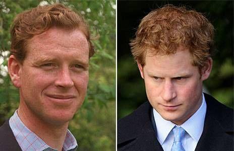 James Hewitt, amante reconocido de Lady Di, durante varios años. Su enorme parecido físico con el príncipe Harry causa rumores en la prensa Inglesa y sacó un libro en donde él mismo ha sugerido que es su legítimo padre biológico