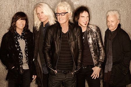 REO Speedwagon with Matt and Stacey at Folinger theater summer 2014