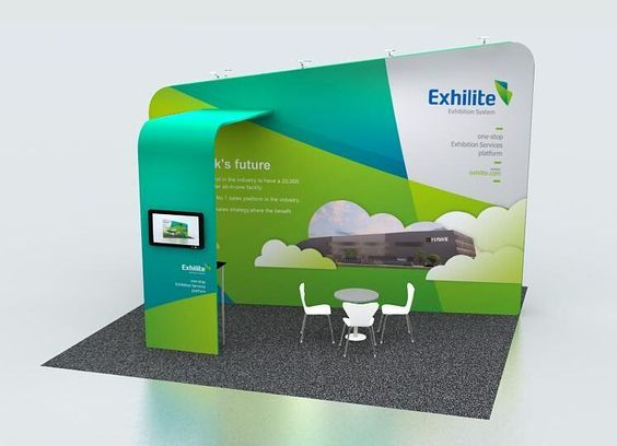 Modular Exhibition Stand Mockup : From feb march hawkdisplay will attend