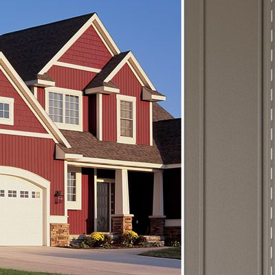 Vertical Vinyl House Siding Board Batten Siding