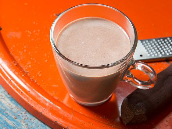 """With roasted and ground cacao nibs, milk, and warming spices, this traditional Caribbean """"tea"""" is more of a hot chocolate."""