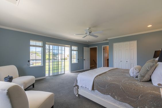 2nd master suite with private balcony and views to the Sonoma hills