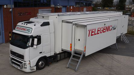 3D OB VAN  Telegenic from High Wycombe, UK, just wins the deal to build BSkyB first 3D OB van. The new OB van will be used to handle stereoscopic production with up to seven dedicated 3D camera rigs, most probably provided by 3ality, CA,USA.