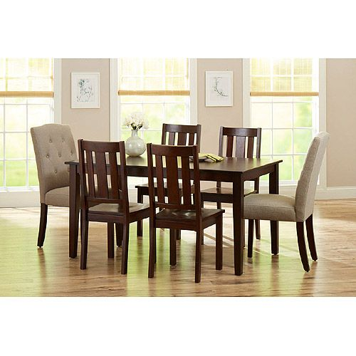 Better Homes And Gardens 7 Piece Dining Set Mocha Beige 400 For Table And 6 Chairs Good