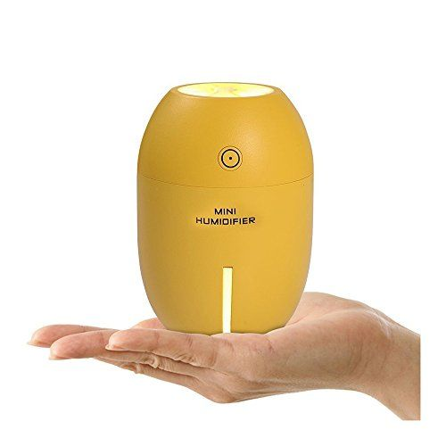 Pdr Tabletop Lemon Humidifier Diffuser Mini Mute Humidifier 180ml Usb Air Purifier Preventing Empty Firing Dry Measure Air Purifier Purifier Humidifier