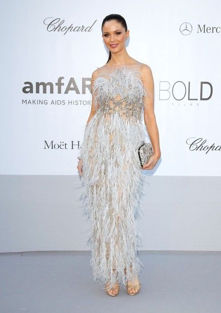 CAP D'ANTIBES, FRANCE - MAY 24:  Georgina Chapman arrives at the 2012 amfAR's Cinema Against AIDS during the 65th Annual Cannes Film Festival at Hotel Du Cap on May 24, 2012 in Cap D'Antibes, France.