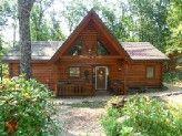 Elk Horn Lodge - 2 Master Suites in the Ozarks at  BransonVacationRentalCabins.com
