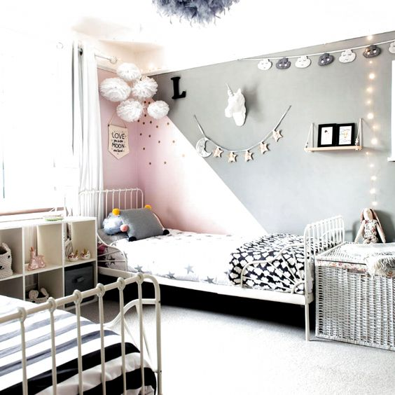 Girls Bedroom Ideas For Every Child From Pink Loving Princesses To Adventurous Tomboys From From From R In 2020 Girls Bedroom Girl Bedroom Decor Girls Room Decor