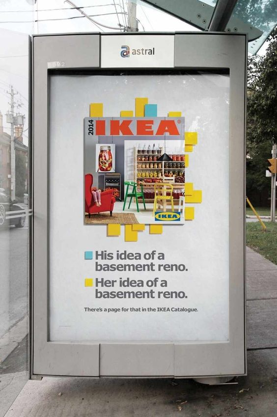 IKEA: Basement reno http://www.arcreactions.com/