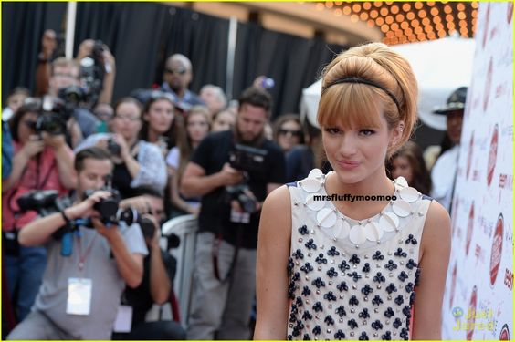 Bella Thorne Teen Vogue clothing line premiere at the Grove in Hollywood