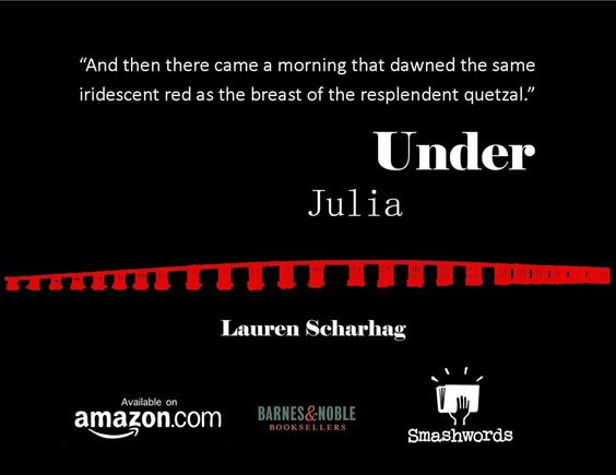 UNDER JULIA - a literary novel http://www.laurenscharhag.blogspot.com/p/under-julia.html… #ASMSG #IARTG