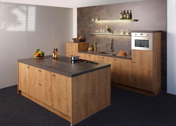kleine Insel, kleine Küche, nolte manhattan Küchenideen - kleine küche mit kochinsel