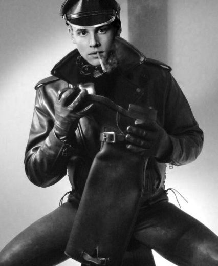 leather boy | leder | Pinterest