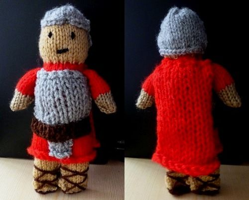 Knitting Patterns Toy Soldiers : Roman soldier knitting pattern Crafty things Pinterest ...