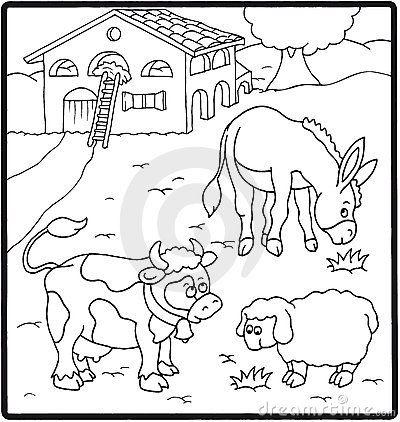 Animales Y Plantas Para Colorear Animals Paisajes Dibujo