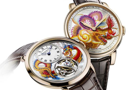 Arnold&Son presentó Métiers d'Art Dragon Unique Pieces, dos exquisitas piezas únicas.