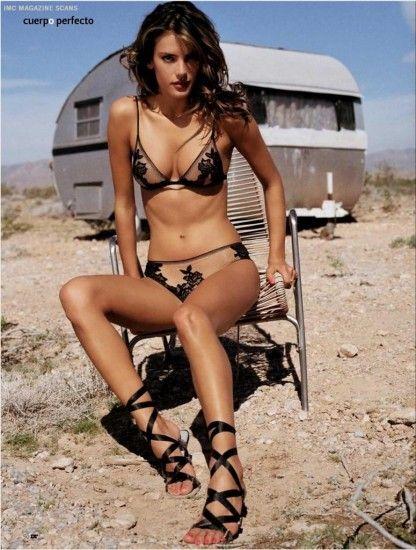 Alessandra Ambrosio. #fashion #photography #sun #lingerie #body #brazilian #models