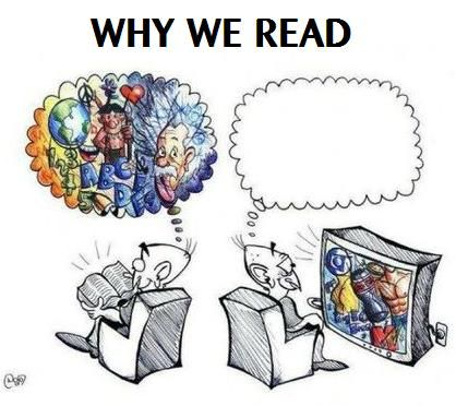 Why we read.: