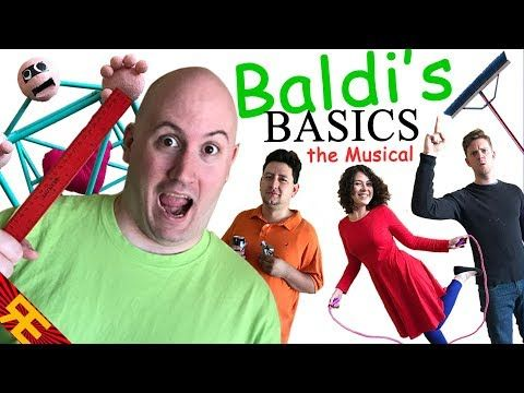 Baldi S Basics The Musical By Random Encounters Youtube
