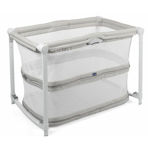 Zip And Go Folding Travel Cot With Mattress Chicco Travel Crib