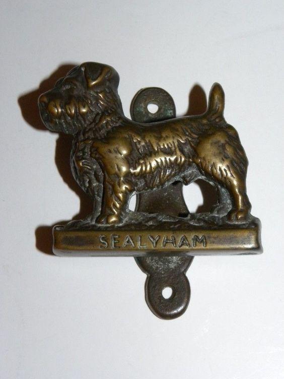 SEALYHAM TERRIER MINIATURE DOOR KNOCKER