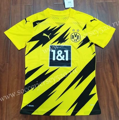 Fimng 2020-2021 Mens Away Soccer Jersey//Short Colour Yellow
