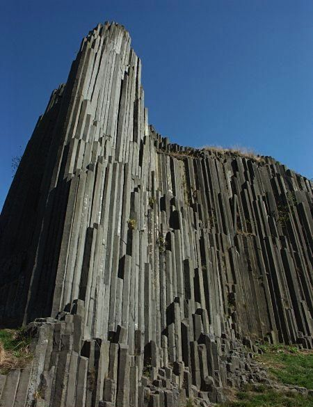 Giant's Causeway near Bushmills, Northern Ireland. This is known as the pipe organ: