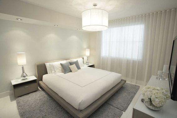 decoracion de habitaciones en color blanco - Buscar con Google