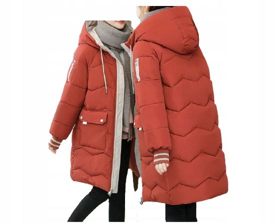 Tw Kurtka Damska Na Zime Ciepla Parka Puch 3xl 46 9779272539 Allegro Pl In 2021 Jackets Winter Jackets Winter