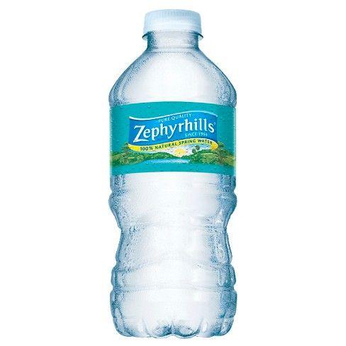 Zephyrhills Brand 100 Natural Spring Water 12pk 12 Fl Oz Bottles Agua Mineral Minerales