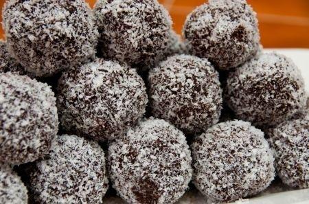 praline cioccolato e cocco