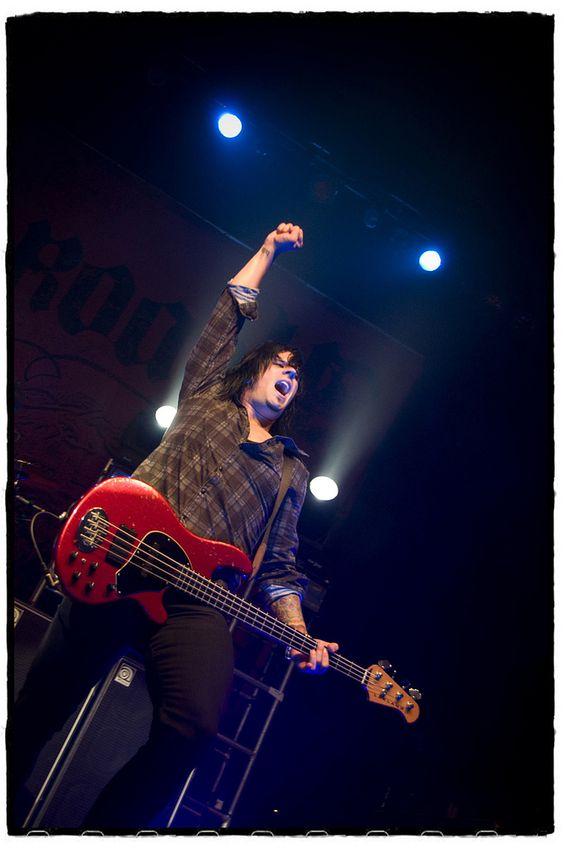 Tobin Esperance (Papa Roach) - O2 Academy, Glasgow | Flickr - Photo Sharing!