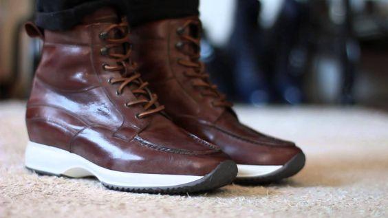 La collection Hiver 2014 : des chaussures réhaussantes à la pointe de la mode pour gagner en toute discrétion quelques centimètres ! http://www.chaussuresrehaussantes.fr/