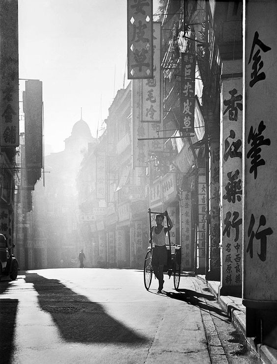 Fotografia: as ruas de Hong Kong dos anos 50 por FAN HO: