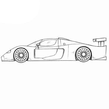 If You Were Looking For A Maserati Coloring Page Then You Found