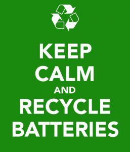 Where to recycle your old batteries!  #recycle #green #battery #safe