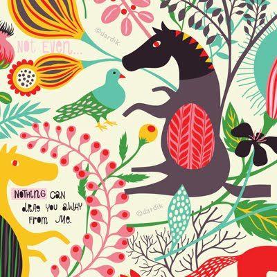 Amazing Illustrations by helen dardik
