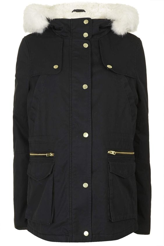 MATERNITY Short Padded Parka Jacket - Maternity - Clothing | Coats