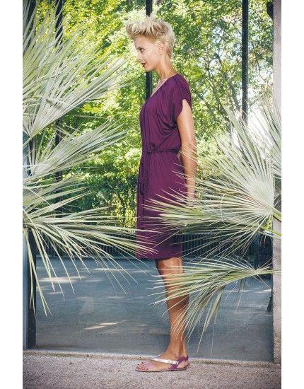 Super schönes leichtes City-Kleid aus Viskose! Erst an den Strand und dann in die City!