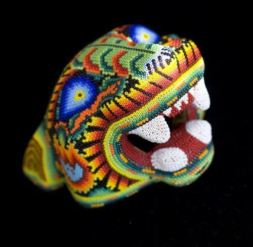 Huichol Art from Mexico, just amazing!