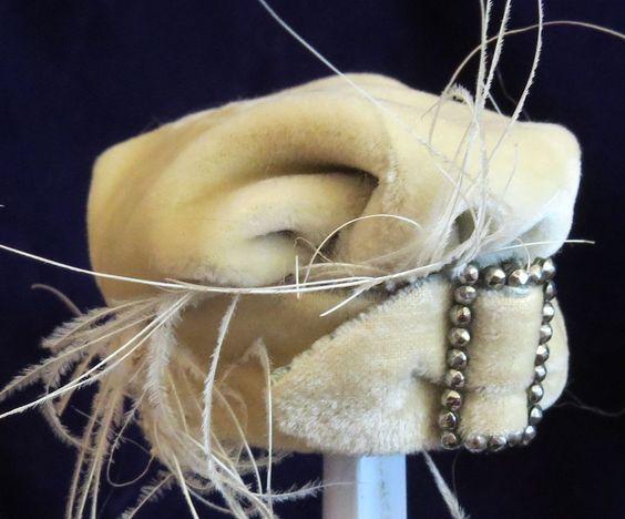 Vintage Doll Bonnet for French or German Antique Bisque Fashion Dolls | eBay