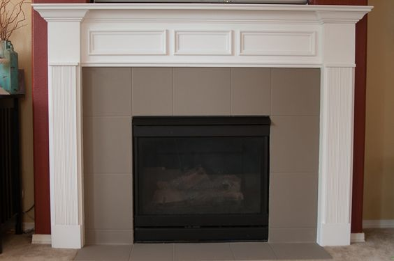 Fireplaces Fireplace tiles and Tile on Pinterest