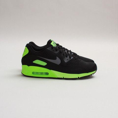 Nike Air Max 90 Premium Comfort EM Black Flash Lime