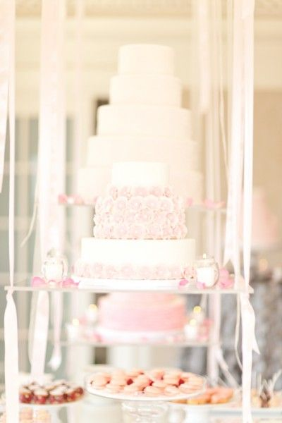 Cakes suspended in air at the Hay-Adams Hotel!  Cakes by Kendall's Cakes.